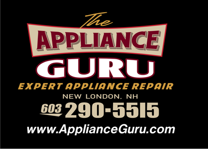 The Appliance Guru - Expert Appliance Repair Service in the Kearsarge-Lake Sunapee Region of New Hampshire.