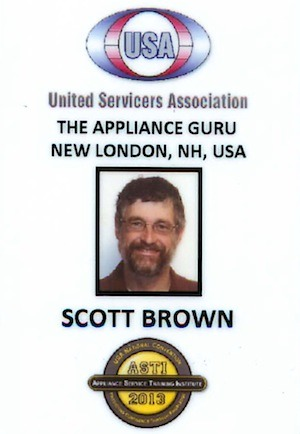 Scott id badge