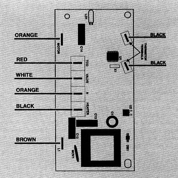 ge im6 icemaker printed circuit board (pcb) d7824705 ice maker wiring schematic ice maker circuit board wiring diagram #11
