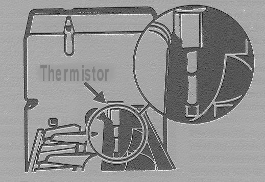 GE IM6 Icemaker Thermistor Location
